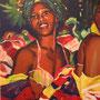 kubanische Tänzerin  Gisa Gudden 60 x 80 cm