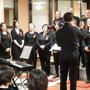 Il coro Humana Vox diretto dal maestro simone Morandi