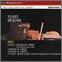 J.S.バッハ『 2つのヴァイオリンのための協奏曲 ニ短調』他 ユーディ・メニューイン(vn, 指揮)/クリスチャン・フェラス(vn) ロバート・マスターズ室内管弦楽団