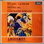 ラヴェル『ボレロ』/『ラ・ヴァルス』他 エルネスト・アンセルメ指揮/スイス・ロマンド管弦楽団