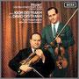 モーツァルト『ヴァイオリンとヴィオラのための協奏交響曲』他 ダヴィッド・オイストラフ(vn)/イーゴリ・オイストラフ(va) キリル・コンドラシン指揮/モスクワ・フィルハーモニー管弦楽団