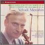 メンデルスゾーン『ヴァイオリン協奏曲 ホ短調 』他 ユーディ・メニューイン(vn) エフレム・クルツ指揮/ワルター・ジュスキント指揮/フィルハーモニア管弦楽団