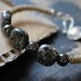 Granit und Hämatit
