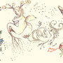 "fairies, elves, dwarf, spirits of ""Flowers & Numerology Cosmic Number"" ●Also check here! http://www.cosmic-number.com/"