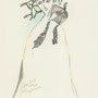 """spirit of Mistletoe"" esquisse for the exhibition"