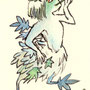 """fairy of the number """"5"""". It symbolizes """"Young Momiji leaves""""."""