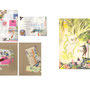 "my original packages and artwork for Exhibition ""LIBRETTO POSTALE animali in viaggio "" Bologna 2013"