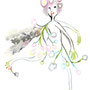 "the elf of ""Baby's breath"" for the event ""Sakuraco Exhibition 2012"""