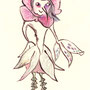 """fairy of the number """"8"""". It symbolizes """"Rose""""."""