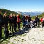 Foto di gruppo a Malga Zocche