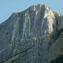 Le scoscese pareti Sud del Corno