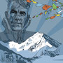 Edmund Hillary, digital, 2003, unpublished