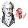 Goethe, pencil, watercolor, Art Direction: Tobias Deeg