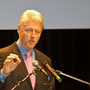Bill Clinton im Kursaal in Bern - © Art of Moment, Carmen Weder, Fotografie, Bern, Schweiz