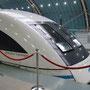 Mit dem Hochgeschwindigkeitszug gehts vom Flughafen im Nu in die Stadt Shanghai