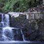 Wasserfälle gibt es einige auf der Insel...