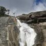 Im Park gibts kleine Wanderungen und Wasserfälle...
