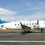 Flug von Taupo via Wellington nach Blenheim auf der Südinsel