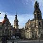 Dresden mit dem Residenzenschloss