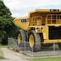 Der Truck sieht irgendwie klein aus, ist aber in Wirklichkeit riesig!