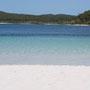 Auf Fraser Island, der grössten Sandinsel der Welt: der Lake McKenzie
