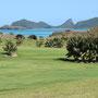Der schöne Golfplatz, den wir jemals gesehen haben. Hier interessiert sich niemand, ob man Mitglied ist oder ein Handicap hat