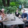 Ankunft in Bangkok mit Ferdi, Rosmarie und Thomas