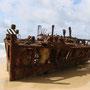 Das Maheno Schiff-Wrack