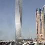 Hochhäuser in der Dubai Marina