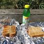 Unser feiner Zmittag: selbst gemachte Toast-Sandwiches
