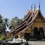 In Luang Prabang gibts sehr viele schöne Tempel
