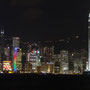 Hong Kong by night...