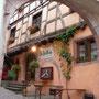 In Riquewihr: Unser Abendlokal