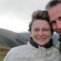 Über die Great Alpine Road in den Süden: Zu oberst auf dem Mount Hotham Pass (1840m) war es so windig, dass es und fast wegwindete!
