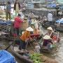 Markt auf dem Mekong