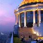 Die berühmte Sky Bar im Hotel Lebua in Bangkok (Film Hangover!)