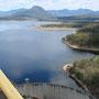 Staudamm von oben