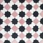 SOUTHERN TILES, Zementfliese /  Dekor: Petit Latti, rosa 20x20 cm