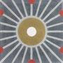 SOUTHERN TILES_CAROCIM Zementfliese, Petit Pan_Météore PAN151, 20x20 cm