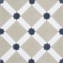 Zementfliese, Southern Tiles / Dekor: Petit Latti, khaki 20x20 / 1,6 cm