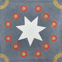 SOUTHERN TILES_CAROCIM Zementfliese, Petit Pan_Kermesse PAN120, 20x20 cm