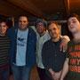 2012-08-02 - Montevideo Funk III @ Sala Zitarrosa (Nacho Pereira, Christian Font, Andrés, Luis Jorge Martínez y Carlos Silva)