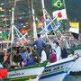 Fischerprozession auf Ilhabela