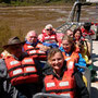 Bootsfahrt in Iguazu und in die Wasserfälle