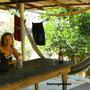Dschungelkneipe auf Ilha Grande