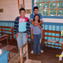 Musiker in der Kirche von Pailad