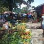 Straßenmarkt von Ghizo, Salomonen