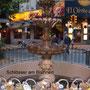Montevideo, Brunnen mit Schlössern, von Verliebten angebracht