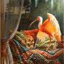 Destinée -  Huile sur toile - 120 cm x 100 cm - 2019