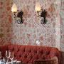 Mise en couleur d'un cuir de Cordoue (Beyrouth - Restaurant le Momo's)
